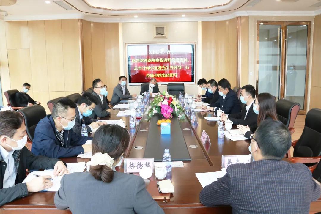 问需问计,深圳税务部门走访代表委员